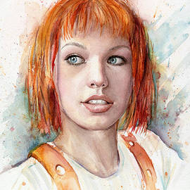 Olga Shvartsur - Leeloo Portrait MULTIPASS The Fifth Element