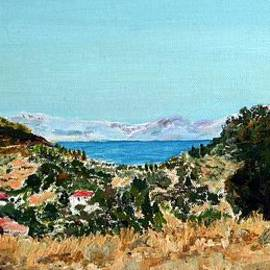 Ethos Lambousa - Lefkada landscape in July