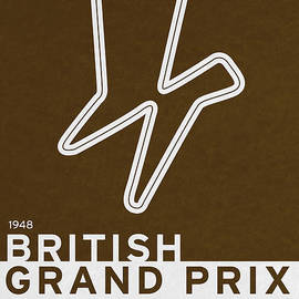 Chungkong Art - Legendary Races - 1948 British Grand Prix