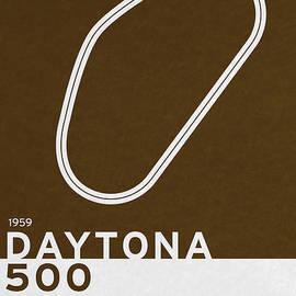 Chungkong Art - Legendary Races - 1959 Daytona 500