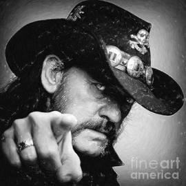 Antony McAulay - Lemmy Kilmister