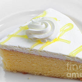 Andee Design - Lemon Chiffon Cake Slice