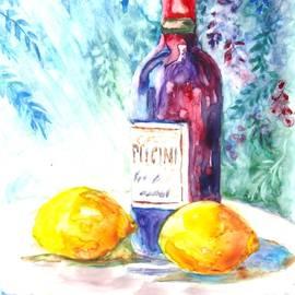Carol Wisniewski - Lemons and Wine and a Little Sunshine