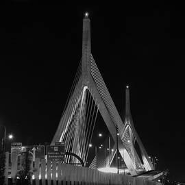 Joann Vitali - Leonard P Zakim Bridge - BW