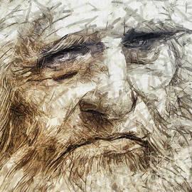 Daliana Pacuraru - Leonardo Da Vinci drawing - portrait