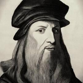 Vishvesh Tadsare - Leonardo Da Vinci-Sepia