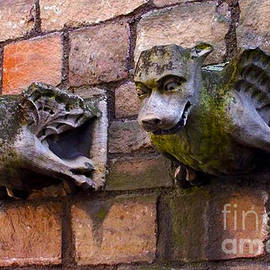 ARTography by Pamela Smale Williams - Les Gargoyles of York