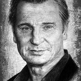 Andrew Read - Liam Neeson grey scratch