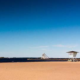 Jukka Heinovirta - Life Guard Hut And A Light House