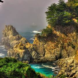 Michael Mazaika - Light and Mist Along the Monterey Peninsula - No. 1 Spring Mid-Afternoon
