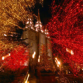 Ron Brown Photographics - Light from the Salt Lake Temple