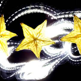 Paul Ge - Light painting on star fruit slice