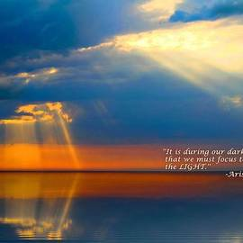 Julia Fine Art And Photography - LIGHT QUOTE Aristotle Onassis