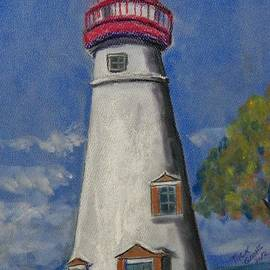 Richard Goohs - Lighthouse at Marblehead