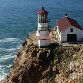 Bob Christopher - Lighthouse at Point Reyes