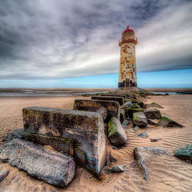 Adrian Evans - Lighthouse at Talacre