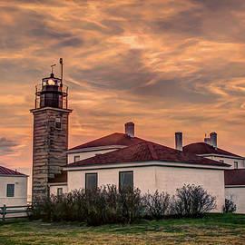 Jerri Moon Cantone - Lighthouse in Rhode Island