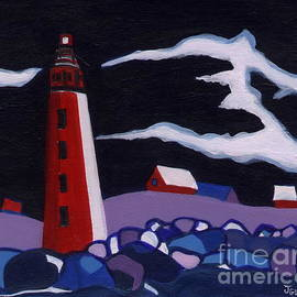 Joyce Gebauer - Lighthouse miniature