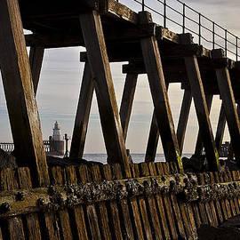 Jim Jones - Lighthouse through the Wooden Pier