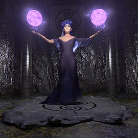 Brainwave Pictures - Lilac Sorceress