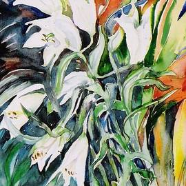 Trudi Doyle - Lilies and Heliconia