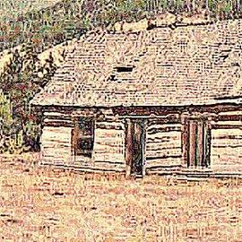 Stanley  Funk - Lillooet Log House