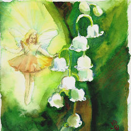 Dawn Shears - Lily-of-the-valley fairy