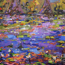 Ginette Callaway - Lily Pond Kaleidoscope
