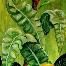 Em Scott - Lime Green Floral #2