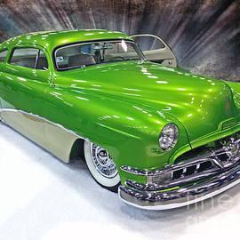 Rick Rea - Lime Green Hot Rod