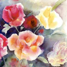 Maria Hunt - Roses in the Garden