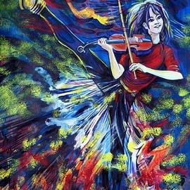 Anna  Duyunova - Lindsey Stirling. Dancing Violinist