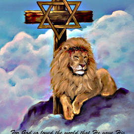 Bob and Nadine Johnston - Lion of Judah Foot of the Cross