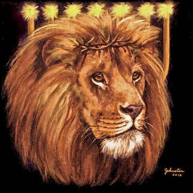 Bob and Nadine Johnston - Lion of Judah - Menorah