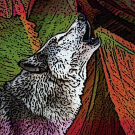 Debbi McDonough - Liquid Color Wolf