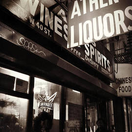 Miriam Danar - Liquor Shop - New York at Night