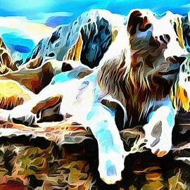 Catherine Lott - Lit White Lion