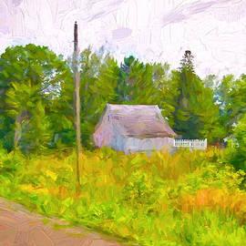 Susan Crossman Buscho - Little Barn Redone in Minnesota