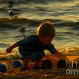 Jeff Breiman - Little Boy On The Beach