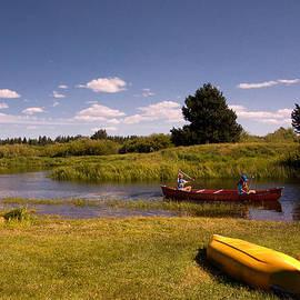 Bob and Nadine Johnston - Little Deschutes River Bend Sunriver Thousand Trails
