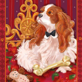 Shari Warren - Little Dogs - Cavalier King Charles Spaniel