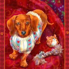Shari Warren - Little Dogs - Dachshund
