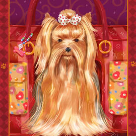 Shari Warren - Little Dogs - Yorkshire Terrier