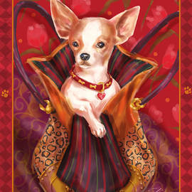 Shari Warren - Little Dogs- Chihuahua