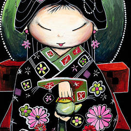 Karin Taylor - Little Green Teapot