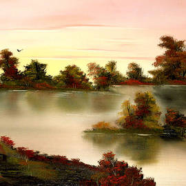 Cynthia Adams - Little Haven in Autumns Glow