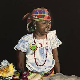 Kelvin James - Little Market Vendor