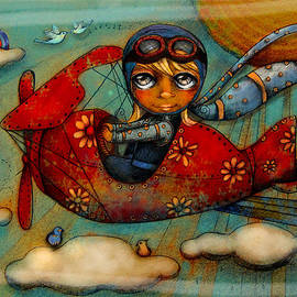 Karin Taylor - Little Red Plane