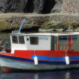 Colette V Hera  Guggenheim  - Little Santorini Fish Boat