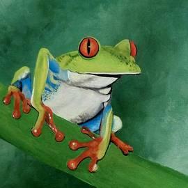 Anne Gardner - Little tree frog